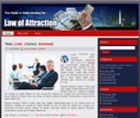 Law Of Attraction Wordpress Theme & WebSite Template